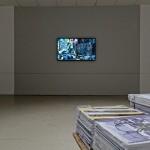 « Traucum », vue de l'exposition au collège Adam Billaut, 2014 © Aurélien Mole / Parc Saint Léger
